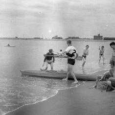 Canoe Club Meeting at Herd Sands
