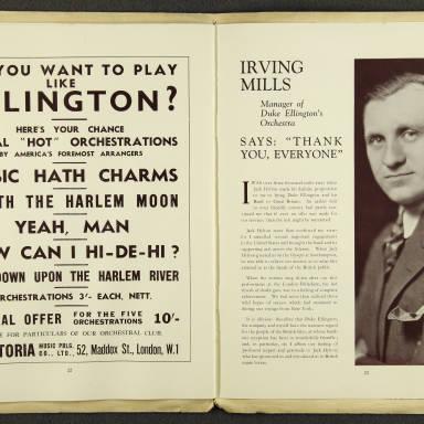 Duke Ellington Orchestra British Tour – July 1933 012