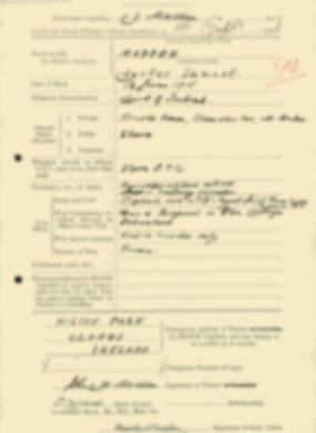 RMC Form 18A Personal Detail Sheets Feb & Sept 1933 Intake - page 248