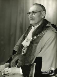 Alderman G W Cole Mayor 1945-46