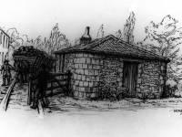 Stone Cottage, Colliers Wood. Surrey Iron Railway