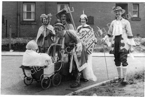 Steven Crescent, Fancy Dress For Coronation 1953