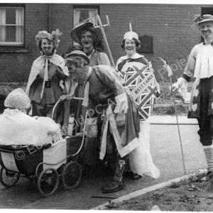 Steven Crescent, Fancy Dress For Coronation 1953