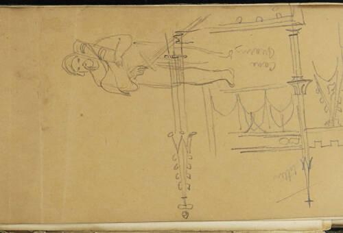 Page 3 of sketchbook 1