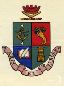 Coat of arms of the city of Nunawading, Victoria, Australia