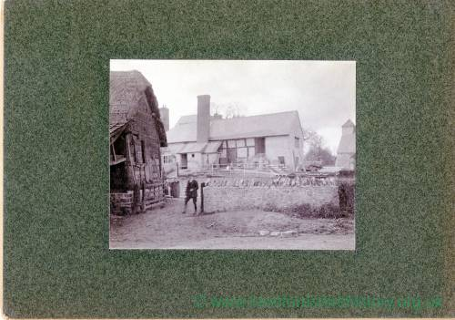 Aylton Court Farm and cider mill house, 1910