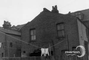 Merton High Street, Nos. 74-76: Rear View