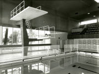 The main pool at Morden Park Swimming Baths.