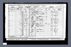 1901 Census for 8 Hoe Gardens, Plymouth, Devon
