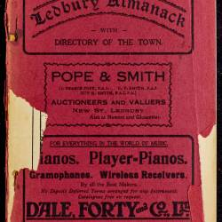 Tilley's Ledbury Almanack 1932