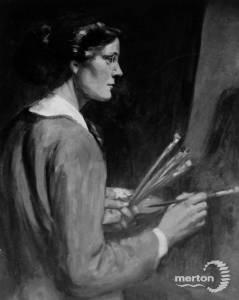 Self portrait of Miss. Dorothy Kenrick