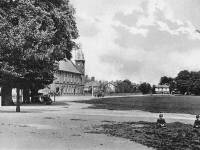 London Road, Mitcham: Vestry Hall and Cricket Green