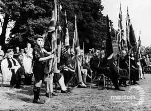 Coronation Service, Morden Park