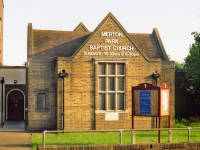 Merton Park Baptist Church - Bushey Road