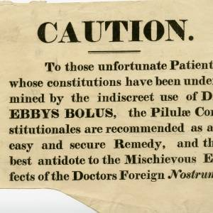 Caution Notice - Recommended remedy for patients who have used Dr Ebbys Bolu