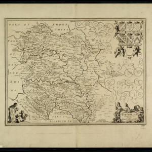 Herefordia Comitatvs Jansson 1652.jpg