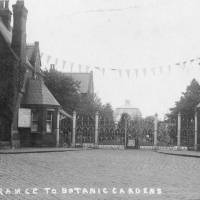 Entrance to Botanic Gardens, Churchtown