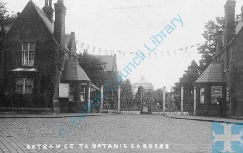 Entrance to Botanic Gardens, Churchtown