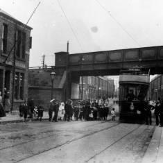 Tram no.8.- South Eldon Street