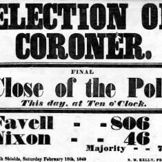 Election of Coroner