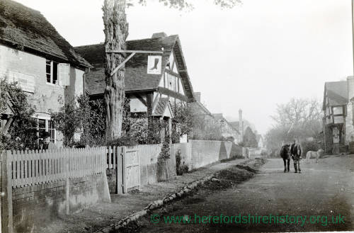 Boot Inn, Orleton, Herefordshire, 1903