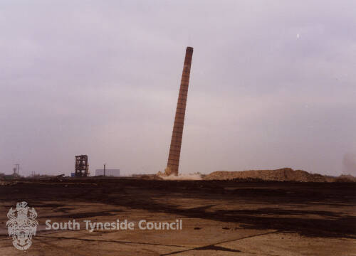 Demolition of Monkton Cokeworks