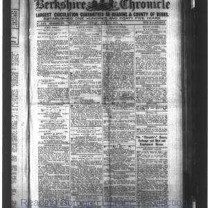 Berkshire Chronicle Reading 07-1915