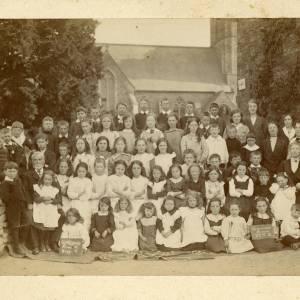 Staunton-on-Arrow School, 27th May 1915