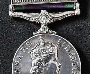 General Service Medal 1962-2007