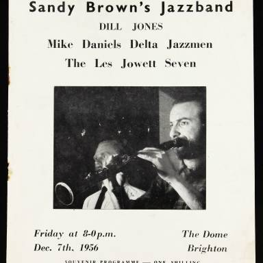 The Dome, Brighton. Sandy Brown's Jazzband