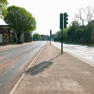Deserted Blue School St., Hereford