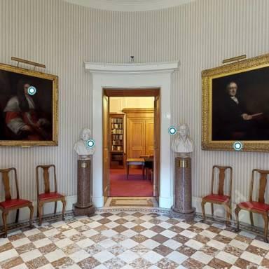 Virtual Tour Room - Entrance Vestibule