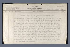 War Diary for 9th Battalion, East Surrey Regiment - 5 August 1917