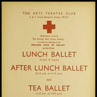 Arts Theatre Club, London, December 1940