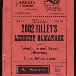 Tilley's Ledbury Almanack 2002