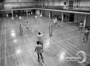 Wimbledon Leisure Centre, Latimer Road: Badminton courts