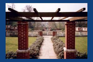 Sunken garden, Cannizaro Park, Wimbledon
