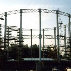 Gasometer, Garden Lane, South Shields.