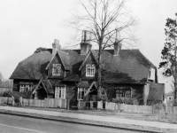 Park Cottage, London Road, Morden: Pictured prior to demolition