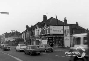 Merton High Street: Looking West at 78-102