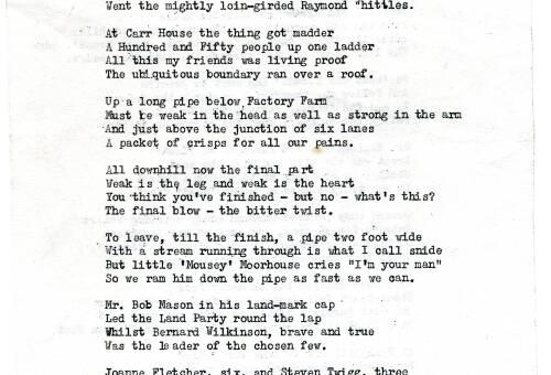 006 The 1979 walk in verse, Part 2