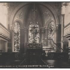 Interior of St Hilda's Church, South Shields