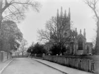 Mitcham Parish Church and Vicar's Field
