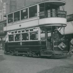 Tram 57 in Fowler Street