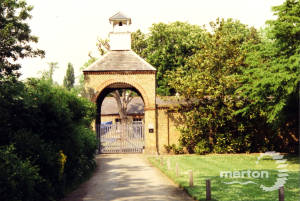 The Stable Block in the Morden Hall Complex