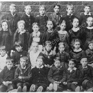 Burncross School class  c 1890