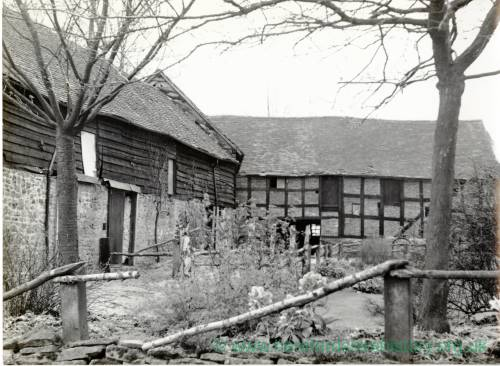 Stoke Bliss Netherwold Manor, farm buildings