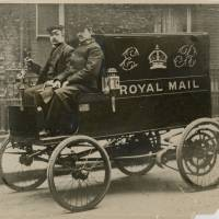 Royal Mail electric van