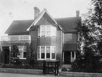 "Merton Park Estate Office and ""The Oriels"""
