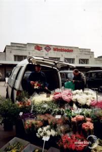 Flower Seller, Wimbledon